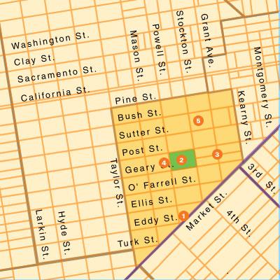 San Francisco Commericial Real Estate Market Boundaries—Union Square ...