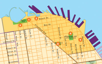 San Francisco Commericial Real Estate Market Boundaries Waterfront